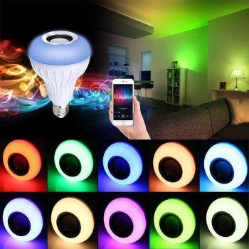 Supli Led 10W Rgb Smart Light Bulb Speaker Generation Ii with Updated Remote Control - New Function of Light Flashing As Music Goes - RGB RGB
