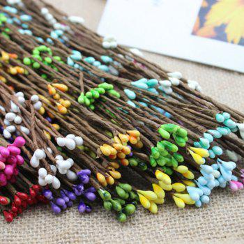 10 Branch Simulation Rattan Diy Garland Decorate Artificial Flower