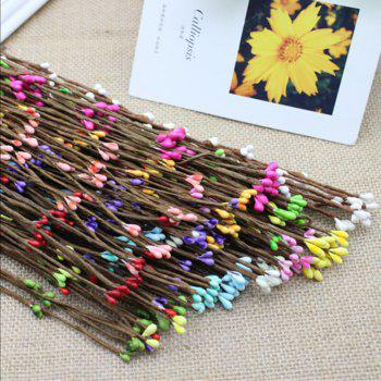 10 Branch Simulation Rattan Diy Garland Decorate Artificial Flower - COLORMIX
