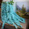 3 Heads 1 Branch Hydrangea String Wedding Site Layout Artificial Flower 140CM - BLUE