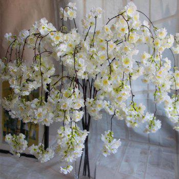 1 Branch Simulation Droop Sakura Wedding Site Layout Artificial Flower 140CM