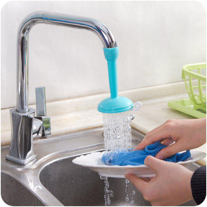 Creativity Adjustable Faucet Water - Saving Regulator - BLUE
