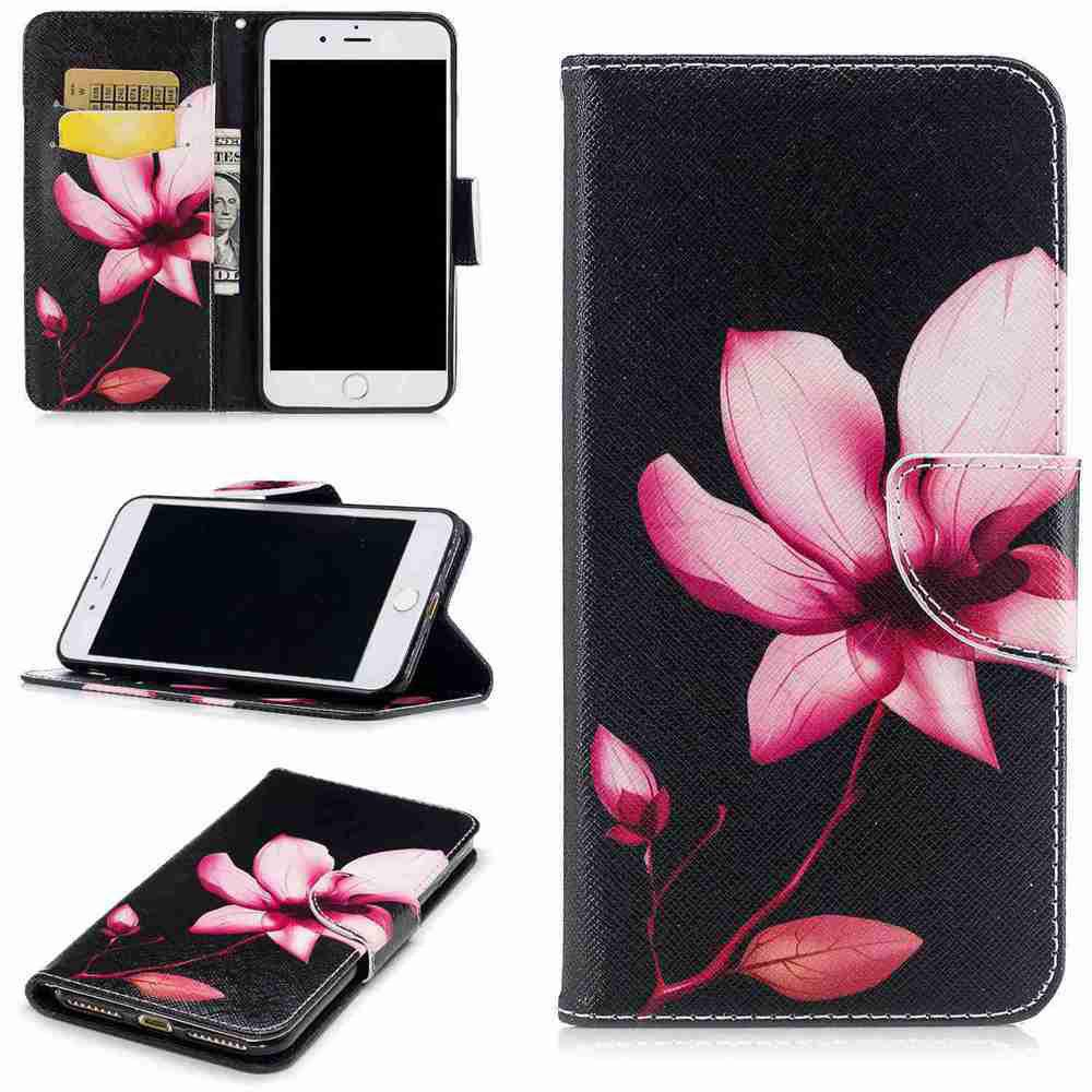 Lotus Pu- Phone Case for iPhone 6/6S gumai silky case for iphone 6 6s black