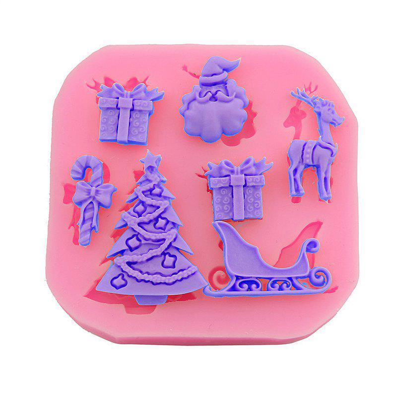 Macroart 2 Pieces Baking Tool DIY High Quality Christmas Cake Molds - COLOR ASSORTED