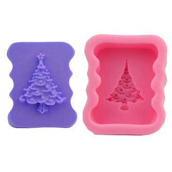 Macroart 2PCS Cake Molds Cooking Utensils Bread Chocolate Cake Silica Gel Baking Tool DIY Christmas Tree - COLOR ASSORTED COLOR ASSORTED