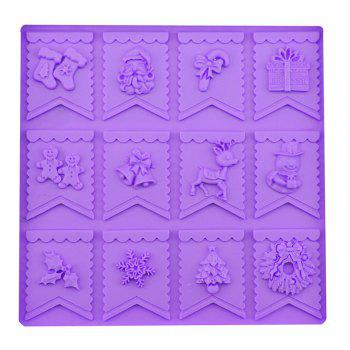 Macroart 2 Pieces Cake Molds Cooking Utensils Bread Chocolate Cake Silica Gel Baking Tool DIY -  COLOR ASSORTED