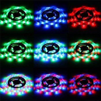 Supli 5M Waterproof Flexible Strip Smd 3528 Rgb 300LEDS with 24KEY Ir Remote Control + 3A Power Adapter - RGB COLOR