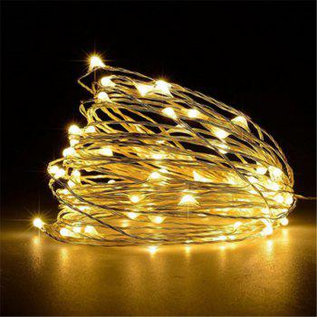 Supli 5M 50 LEDs USB Multi Colors Holiday String Lampes Lampes Éclairage Home - Blanc Chaud