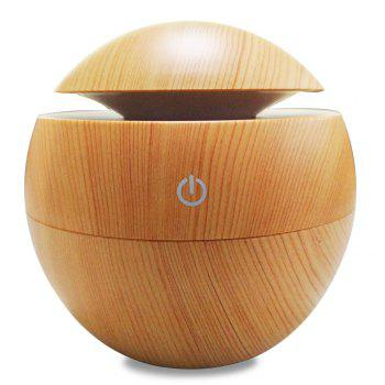 Aroma Essential Oil Diffuser 130ML Aromatherapy Cool Mist Humidifier - WOOD GRAIN WOOD GRAIN