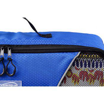 4pcs / Set Packing Cubes Travel Organizer - Bleu