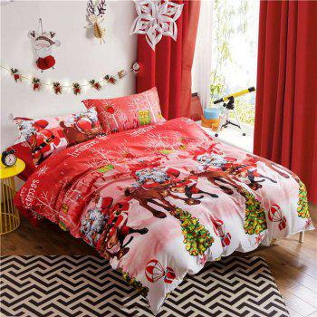 Mingjie Imitation Cotton Bedding Set for Queen Size