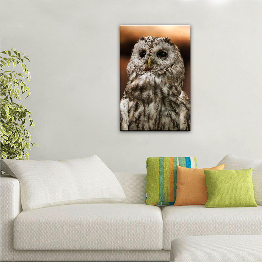 Yhhp 1 Panels Animal Owl photo Imprimer Modern Art mural Sur Toile Unframed - multicolorcolore 16 X 24 INCH (40CM X 60CM)