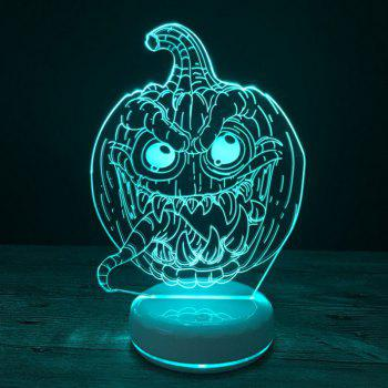 Shelomo 3D Lamp Base Acrylic Plate Accessories for Led Night Light Pumpkin Lantern - COLORFUL COLORFUL