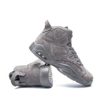 High Top Breathable Basketball Shoes - 44 44