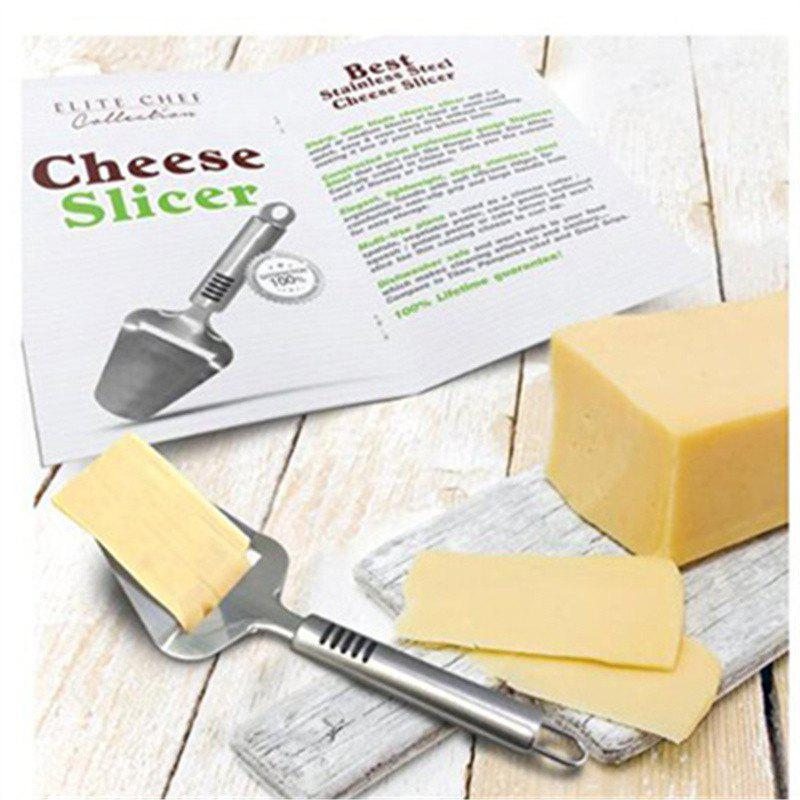 Stainless Steel Cheese Cake Slicing Knife baking Tools - SILVER