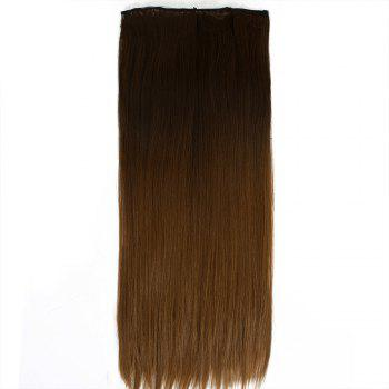 TODO Straight Ombre 7-Piece 16-Clip Clip-in Hair Extensions - 22INCH 22INCH