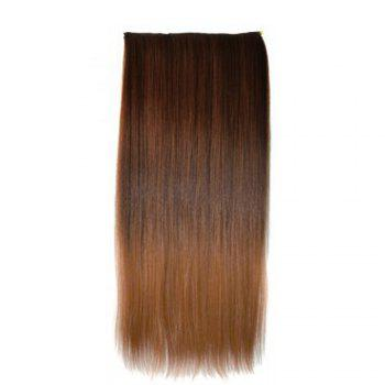 TODO Straight Ombre 7-Piece 16-Clip Clip-in Hair Extensions -