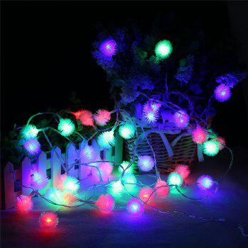 20-LED Dandelion Christmas Tree Shaped String Lights Decoration Colored Lamp - COLORFUL COLORFUL