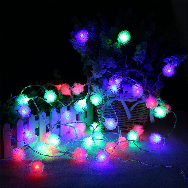 20-LED Dandelion Christmas Tree Shaped String Lights Decoration Colored Lamp - COLORFUL