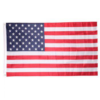 Yeduo Polyester USA United States American Flag 90 x 150cm - COLORMIX COLORMIX