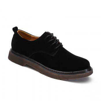 Wild Low To Help Martin Shoes Retro Casual Shoes - BLACK 41