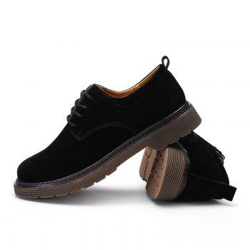 Wild Low To Help Martin Shoes Retro Casual Shoes - BLACK BLACK