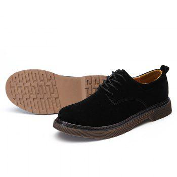 Wild Low To Help Martin Shoes Retro Casual Shoes - BLACK 40