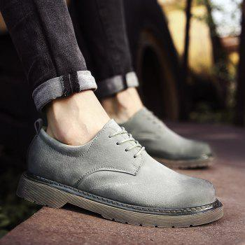 Wild Low To Help Martin Shoes Retro Casual Shoes - GRAY GRAY