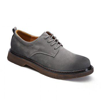 Wild Low To Help Martin Shoes Retro Casual Shoes - GRAY 39