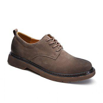 Wild Low To Help Martin Shoes Retro Casual Shoes - KHAKI 44
