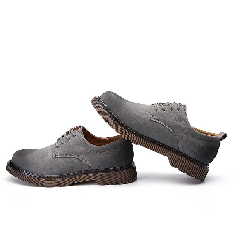 Wild Low To Help Martin Shoes Retro Casual Shoes - GRAY 42