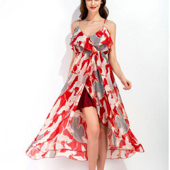 Beach Harness Dress - RED RED