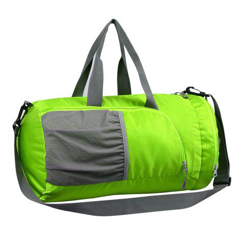 Superlight Promotional Polyester Travel Waterproof Duffel Bag - GREEN