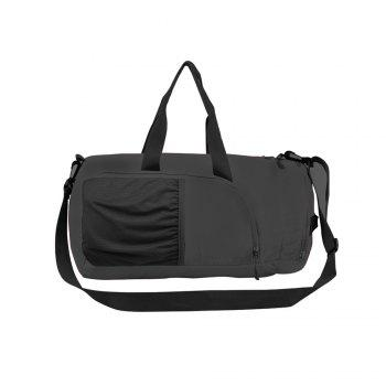 Superlight Promotional Polyester Travel Waterproof Duffel Bag - BLACK