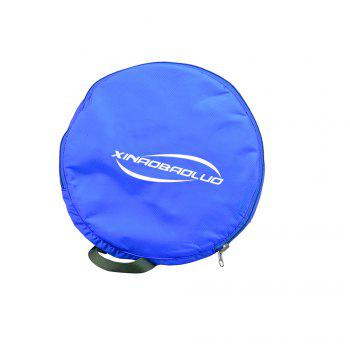Superlight Promotional Polyester Travel Waterproof Duffel Bag -  BLUE