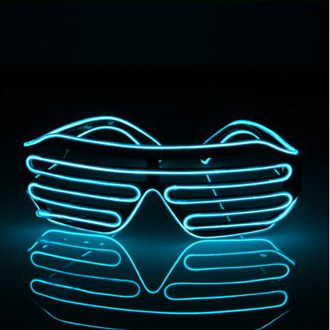 YouOKLight DC 3V 3 Modes Sound Control Flash El LED Glasses Luminous Party  Lighting Colorful Glowing Classic Toys for Dance DJ Party Mask 1PC