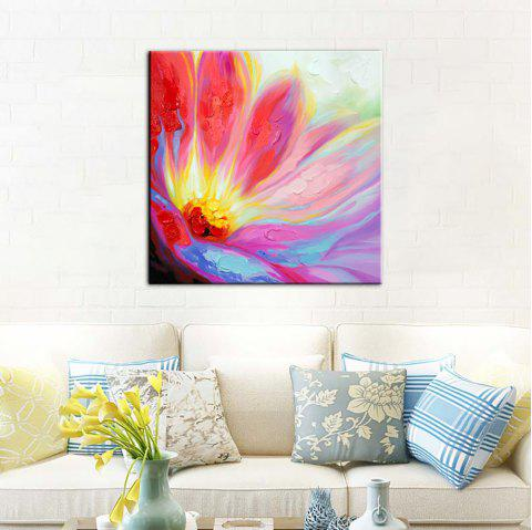 Yhhp Hand-Painted High-Definition Pictures To Print Simulation Oil Painting Print Wall Art On Canvas Unframed - AMERICAN BEAUTY 16 X 16 INCH (40CM X 40CM)