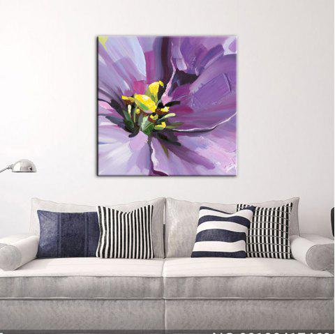 Yhhp Hand-Painted High-Definition Flowers Pictures To Print Simulation Oil Painting Print Wall Art On Canvas Unframed - DAHLIA 16 X 16 INCH (40CM X 40CM)