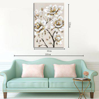 Hx-Art Gallery Frame Canvas White Decorative living Room Hallway Decoration Paintings - COLORMIX 80CMX120CM