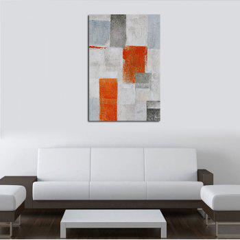 Hx-Art Unframed Canvas Abstract Corridor Living Room Bedroom Decoration - COLORMIX 80CMX120CM