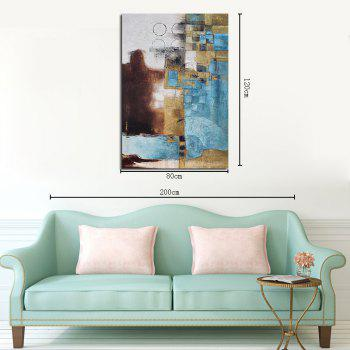 Unframed Canvas Abstract Decorative Painting Living Room Bedroom Study - COLORMIX 80CMX120CM