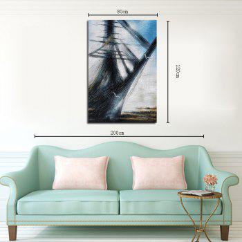 Hx-Art No Frame Canvas Abstract Seascape Study Modern Minimalist Living Room Bedroom Hallway Painting - COLORMIX 80CMX120CM