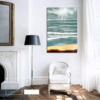 Hx-Art No Frame Canvas Abstract Living Room Hallway Decoration Paintings - COLORMIX 80CMX120CM