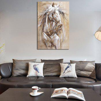 Hx-Art No Frame Canvas Animals Minimalist Living Room Office Decorated Horse-2 - COLORMIX 80CMX120CM