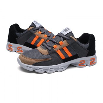 Color Block Mens Sports Shoes - 42 42