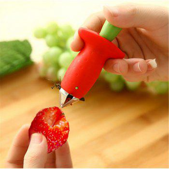 Strawberry Hullers Fruit Digging Tools Tomate Nuclear Corers Stalks Tige Remover Fruit Knife Kitchen Accessory - américaine beauté