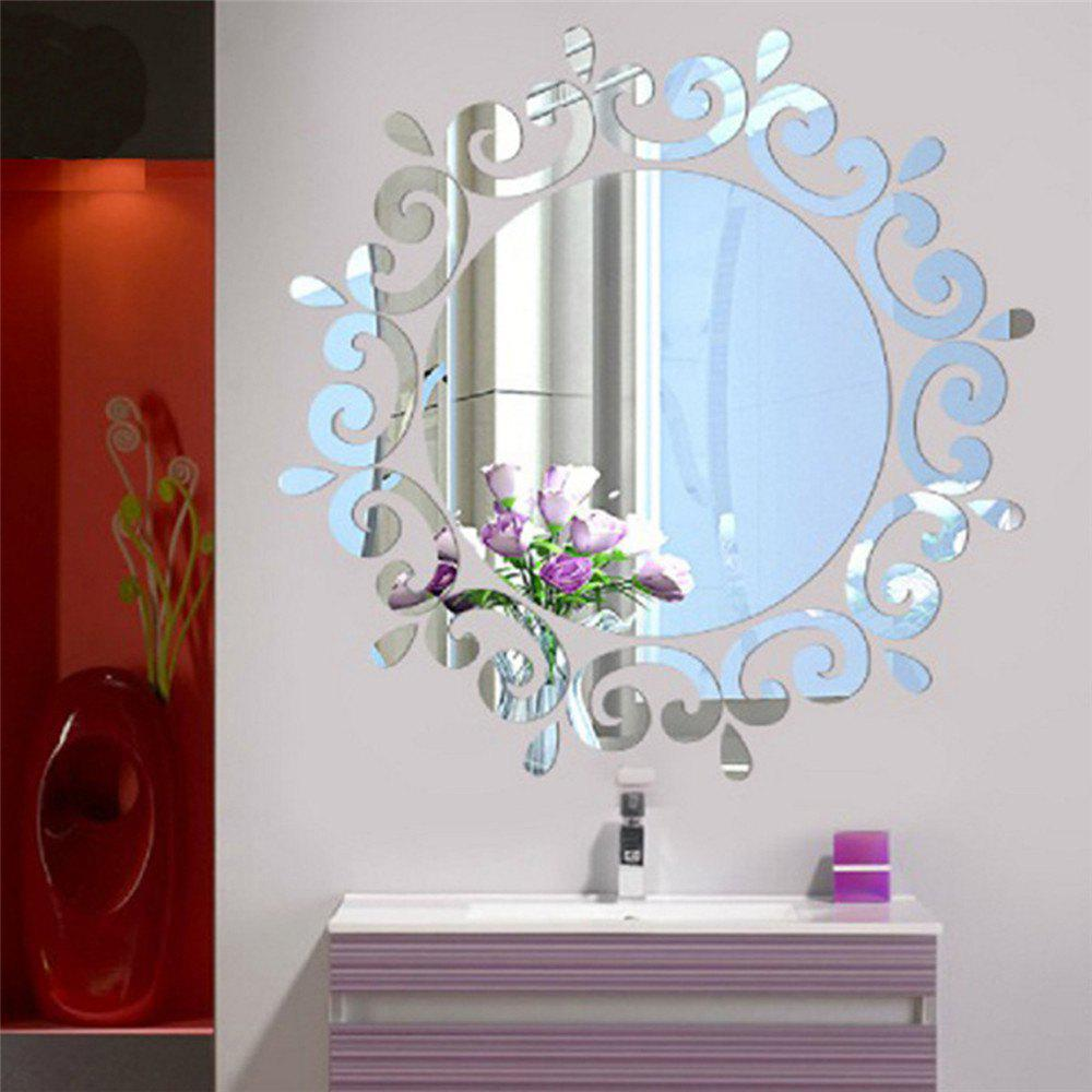 2018 mirror removal wall sticker for living room bathroom silver mirror removal wall sticker for living room bathroom silver amipublicfo Images