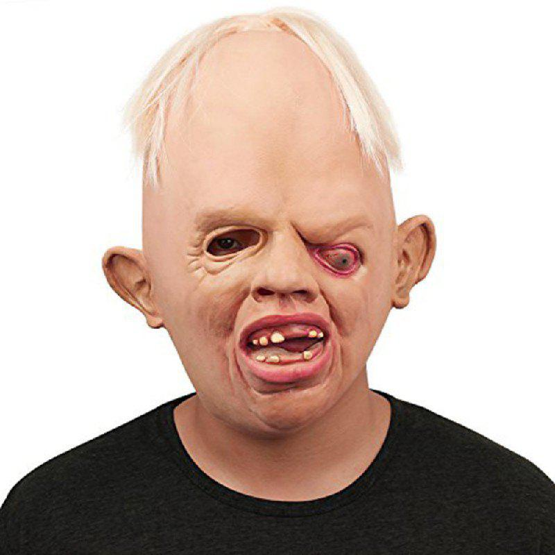 Yeduo Horrible Monster Adult Latex Masks Full Face Breathable Halloween Masquerade Mask Fancy Dress Party Cosplay Costume - COLORMIX
