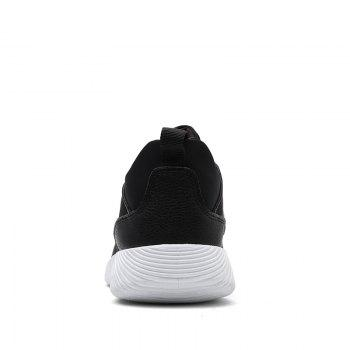 Drawstring Solid Color Breathable Casual Shoes - 39 39