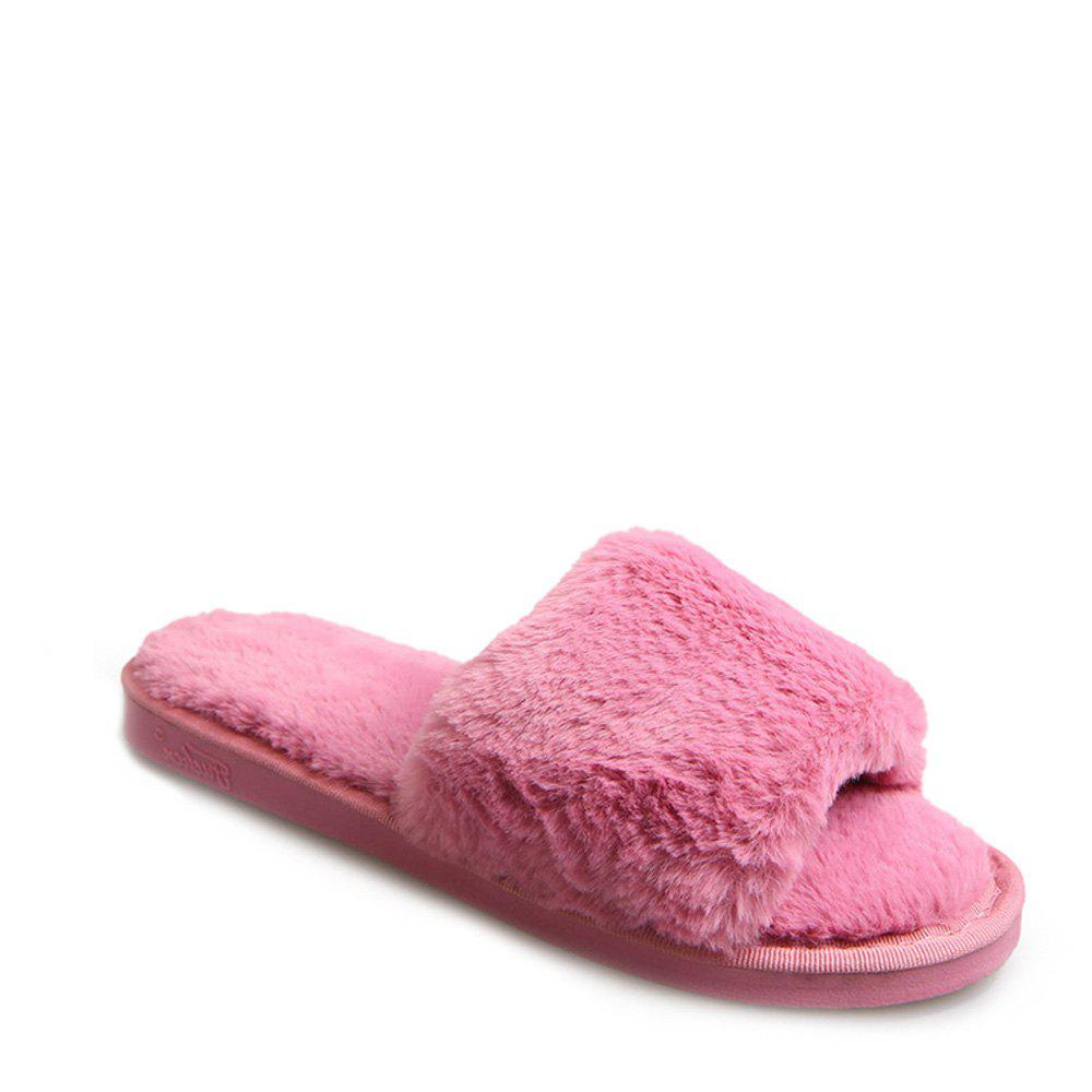 2017 Wool Flat Cotton Slippers - TUTTI FRUTTI 38